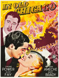 """Movie Posters:Drama, In Old Chicago (20th Century Fox, 1937). Swedish One Sheet (35"""" X46.5""""). Drama.. ..."""
