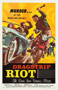 "Movie Posters:Exploitation, Dragstrip Riot (American International, 1958). One Sheet (27"" X41"").. ..."