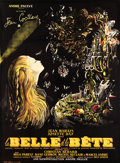"Movie Posters:Fantasy, La Belle et la Bete (DisCina, R-1951). Full-Bleed French Grande (45"" X 61.5"").. ..."