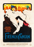 """Movie Posters:Musical, French Cancan (Gaumont, 1955). French Grande (47"""" X 63"""") Style B.. ..."""