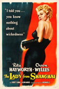 """Movie Posters:Film Noir, The Lady from Shanghai (Columbia, 1947). One Sheet (27"""" X 41"""")....."""