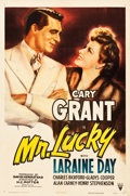 "Movie Posters:Romance, Mr. Lucky (RKO, 1943). One Sheet (27.25"" X 40.75"").. ..."