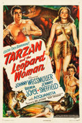 "Movie Posters:Adventure, Tarzan and the Leopard Woman (RKO, 1946). One Sheet (27.25"" X41"").. ..."