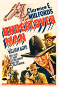 "Movie Posters:Western, Undercover Man (Paramount, 1942). One Sheet (27.25"" X 41"").. ..."