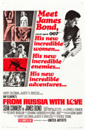 "Movie Posters:James Bond, From Russia with Love (United Artists, 1964). One Sheet (27"" X 41"") Style A.. ..."