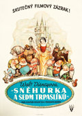 "Movie Posters:Animation, Snow White and the Seven Dwarfs (RKO, 1937). Czechoslovakian Poster (28"" X 39"").. ..."