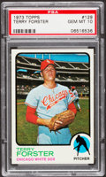 Baseball Cards:Singles (1970-Now), 1973 Topps Terry Forster #129 PSA Gem Mint 10....
