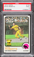 Baseball Cards:Singles (1970-Now), 1973 Topps Dave Roberts #133 PSA Mint 9....