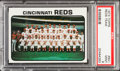 Baseball Cards:Singles (1970-Now), 1973 Topps Reds Team #641 PSA Mint 9....