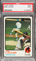 Baseball Cards:Singles (1970-Now), 1973 Topps Bob Locker #645 PSA Mint 9....