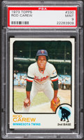 Baseball Cards:Singles (1970-Now), 1973 Topps Rod Carew #330 PSA Mint 9....