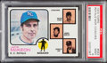 Baseball Cards:Singles (1970-Now), 1973 Topps Royals Mgr./Coaches #593 PSA Mint 9....