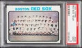 Baseball Cards:Singles (1970-Now), 1973 Topps Red Sox Team #596 PSA Mint 9....