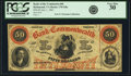Obsoletes By State:Virginia, Richmond, VA - Bank of the Commonwealth $50 July 1, 1861 VA-170 G8a, Jones & Littlefield BR15-41. PCGS Very Fine 30.. ...