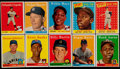 Baseball Cards:Sets, 1958 Topps Baseball Partial Set (427/495)....