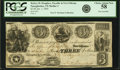 Obsoletes By State:Texas, Nacogdoches, TX - Kelsey H. Douglass, Payable in New Orleans $3 Jan. 1, 1840. Olson 1435, Medlar 3. PCGS Choice About New 58....