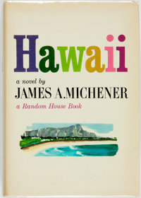 James A. Michener. INSCRIBED. Hawaii. New York: Random House, [1959]. First edition, first prin
