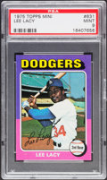 Baseball Cards:Singles (1970-Now), 1975 Topps Mini Lee Lacy #631 PSA Mint 9....