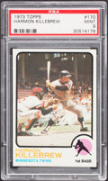 Baseball Cards:Singles (1970-Now), 1973 Topps Harmon Killebrew #170 PSA Mint 9....