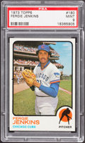 Baseball Cards:Singles (1970-Now), 1973 Topps Fergie Jenkins #180 PSA Mint 9....