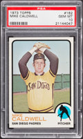 Baseball Cards:Singles (1970-Now), 1973 Topps Mike Caldwell #182 PSA Gem Mint 10 - Pop Four....
