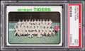 Baseball Cards:Singles (1970-Now), 1973 Topps Tigers Team #191 PSA Mint 9....