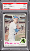 Baseball Cards:Singles (1970-Now), 1973 Topps Bud Harrelson #223 PSA Mint 9....