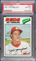 Baseball Cards:Singles (1970-Now), 1977 Topps Joel Youngblood #548 PSA Gem Mint 10....