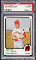 Baseball Cards:Singles (1970-Now), 1973 Topps George Culver #242 PSA Gem Mint 10....