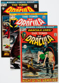 Bronze Age (1970-1979):Horror, Tomb of Dracula #1-70 Near Complete Run Group of 70 (Marvel,1972-79) Condition: Average GD/VG.... (Total: 70 Comic Books)
