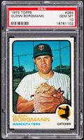 Baseball Cards:Singles (1970-Now), 1973 Topps Glenn Borgmann #284 PSA Gem Mint 10....