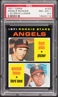 Baseball Cards:Singles (1970-Now), 1971 Topps Angels Rookies #152 PSA NM-MT+ 8.5....