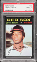 Baseball Cards:Singles (1970-Now), 1971 Topps Jarvis Tatum #159 PSA Mint 9....