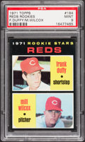 Baseball Cards:Singles (1970-Now), 1971 Topps Reds Rookies #164 PSA Mint 9....
