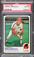 Baseball Cards:Singles (1970-Now), 1973 Topps Darrell Brandon #326 PSA Gem Mint 10 - Pop Two....