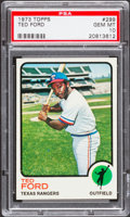 Baseball Cards:Singles (1970-Now), 1973 Topps Ted Ford #299 PSA Gem Mint 10....