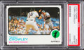 Baseball Cards:Singles (1970-Now), 1973 Topps Terry Crowley #302 PSA Gem Mint 10 - Pop Four....