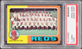 Baseball Cards:Singles (1970-Now), 1975 Topps Reds Team #531 PSA Mint 9....