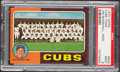 Autographs:Bats, 1975 Topps Cubs Team #638 PSA Mint 9....