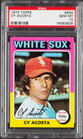 Baseball Cards:Singles (1970-Now), 1975 Topps Cy Acosta #634 PSA Gem Mint 10 - Pop Three....