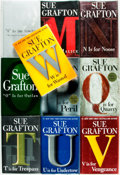 Books:Mystery & Detective Fiction, [Sue Grafton]. Group of Ten SIGNED Books. Various publishers and dates. Signed by the author. ... (Total: 10 Items)