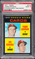 Baseball Cards:Singles (1970-Now), 1971 Topps Cards Rookies #216 PSA Mint 9 - Pop Four, NoneHigher....