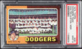 Baseball Cards:Singles (1970-Now), 1975 Topps Dodgers Team #361 PSA Mint 9....