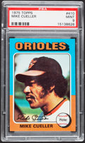Baseball Cards:Singles (1970-Now), 1975 Topps Mike Cueller #410 PSA Mint 9....