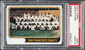 Baseball Cards:Singles (1970-Now), 1974 Topps Giants Team #281 PSA Mint 9....