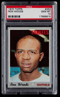 Baseball Cards:Singles (1970-Now), 1970 Topps Ron Woods #253 PSA Gem Mint 10 - Pop Two....