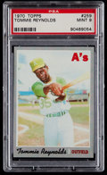 Baseball Cards:Singles (1970-Now), 1970 Topps Tommie Reynolds #259 PSA Mint 9....