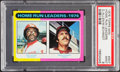 Baseball Cards:Singles (1970-Now), 1975 Topps Mini Home Run Leaders Allen/Schmidt #307 PSA Mint 9....