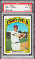 Baseball Cards:Singles (1970-Now), 1972 Topps Rico Petrocelli #30 PSA Gem Mint 10....