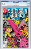 Modern Age (1980-Present):Superhero, Suicide Squad #23 (DC, 1989) CGC NM/MT 9.8 White pages....